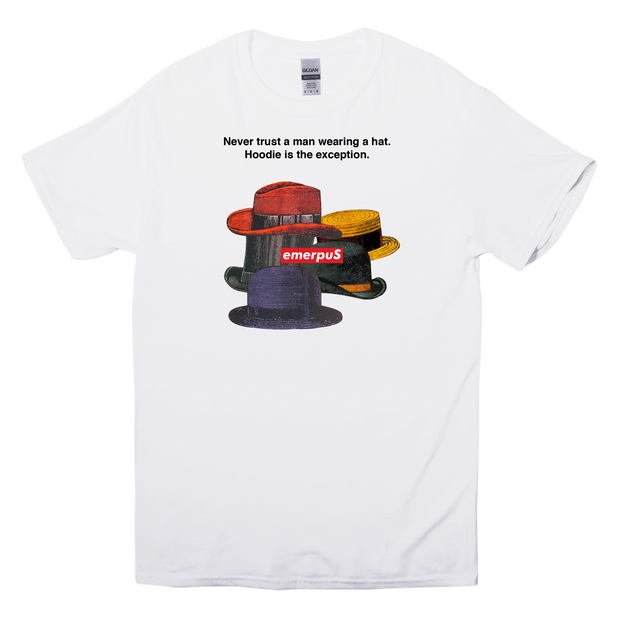 Hats T-Shirt (White)