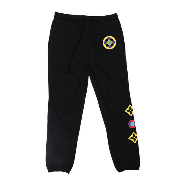 Four of a Kind Lounge Pant (Black)
