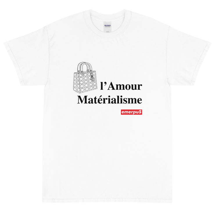 l'Amour Materialisme T-Shirt (White)