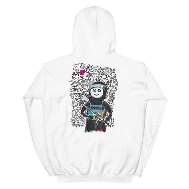 Fun Police Hoodie (White)