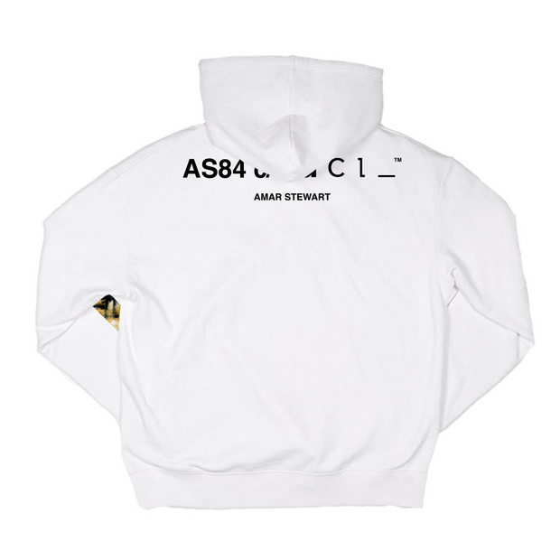 Mo Money Mo Problems Standard Hoodie (White)