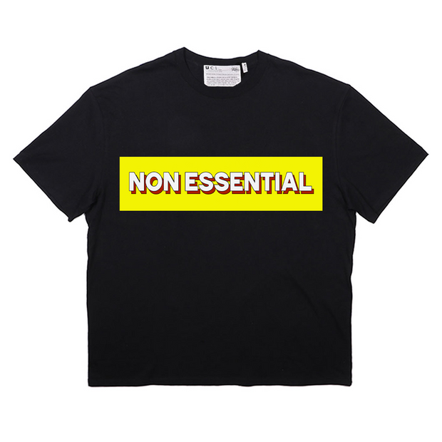 Non Essential T-Shirt (Black)