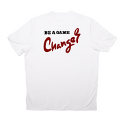 Tic Tac Toe Game Changer T-Shirt (White)