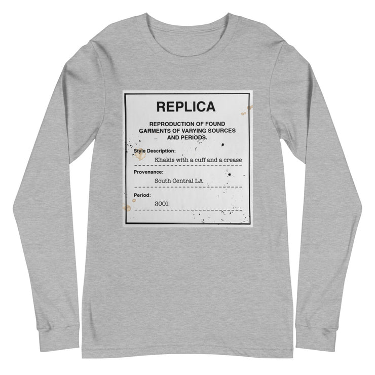 Replica South LA Long Sleeve (Light Grey)