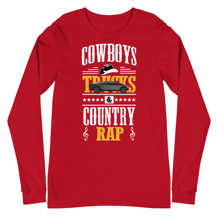 Electric Cowboy Longsleeve (Red)