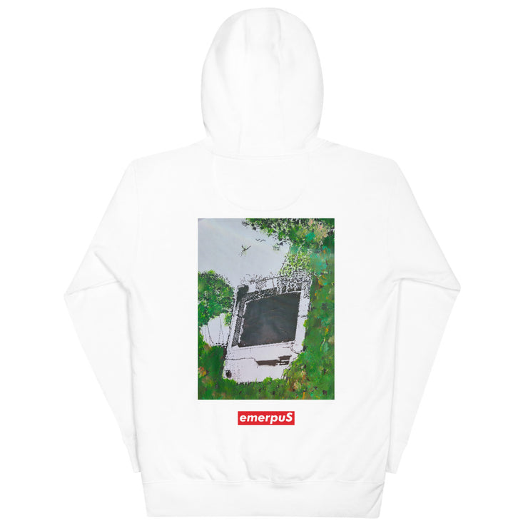 Nature Reclaims All Hoodie (White)