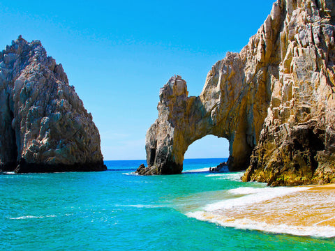California vibe and a beautiful stretch of beach - Cabo San Lucas