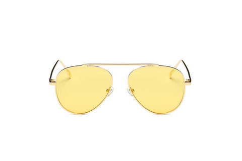YELLOW LENS AVIATORS