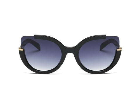 OVER-SIZED RIMLESS SUNGLASSES