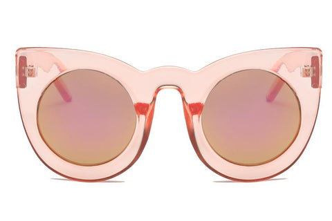 CLEAR PINK CAT EYE