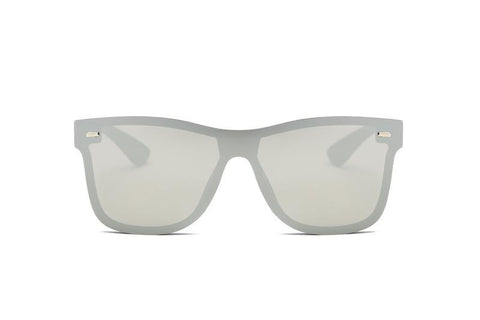Modern Colored Horn Rimmed Sunglasses