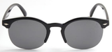Clubmaster Solid Smoke Lens