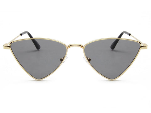 TRIANGLE METAL CAT EYE FASHION - Unum Sunglasses