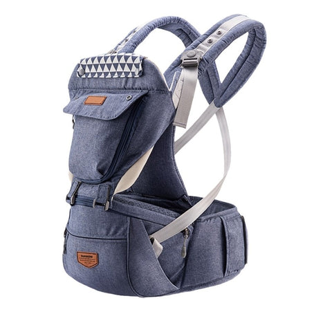 Best ergonomic baby infant hooded carrier with hip seat 2020 - I BABY CARRIER