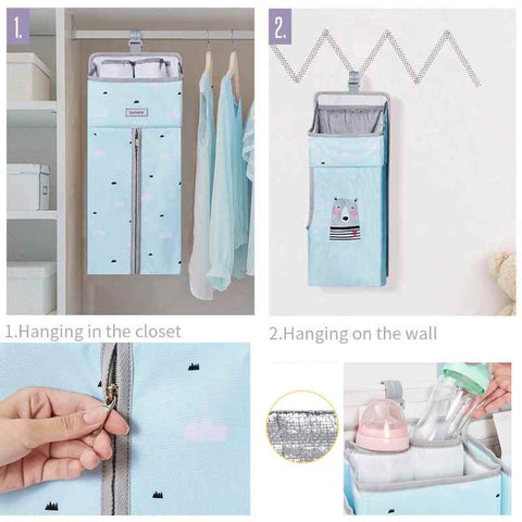 The best baby crib organizer who is also a baby crib hanging organizer - I BABY CARRIER