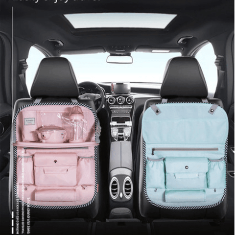 Car Organizer For Baby, 	Storage bag for car seat, BABY CAR SEAT ORGANIZER, BEST Car Seat Organizer With Tray | I BABY CARRIER