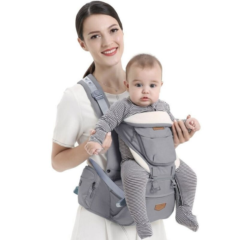 Best ergonomic baby carrier, INFANT TODDLER HOODED CARRIER, Baby Carrier With Detachable Hip Seat Carrier - I BABY CARRIER