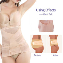 Load image into Gallery viewer, 3 in 1 Belly abdomen pelvis postpartum belt, BODY RECOVERY SHAPEWEAR  using effects – I BABY CARRIER