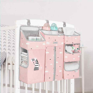 Best Baby Crib Hanging Storage Nursery Diapers Clothes Organizer - I BABY CARRIER