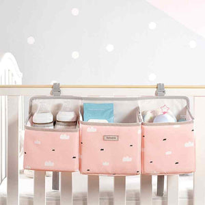 BEST BABY CRIB HANGING STORAGE NURSERY ORGANIZER  - I BABY CARRIER