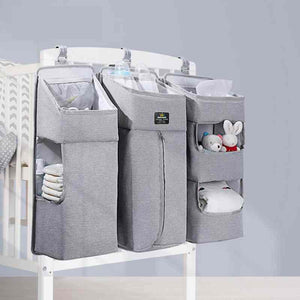 Baby Crib Hanging Storage Nursery Diapers Organizer - I BABY CARRIER
