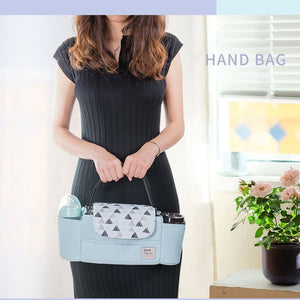 Portable diaper bag as a hand bag – I BABY CARRIER
