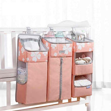 Load image into Gallery viewer, Baby Crib Hanging Storage Nursery Organizer  - I BABY CARRIER