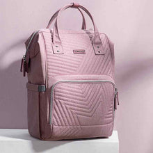 Load image into Gallery viewer, BEST MULTI-FUNCTIONAL BABY DIAPER BAG LARGE CAPACITY TRAVEL BACKPACK PINK COLOR - I BABY CARRIER