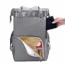 Load image into Gallery viewer, MULTI-FUNCTIONAL BABY DIAPER BAG LARGE CAPACITY TRAVEL BACKPACK - I BABY CARRIER