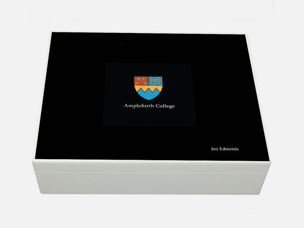 Ampleforth College School Memory Wood Box - A4 Box - Personalised