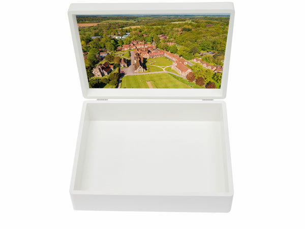 Bradfield College School Memory Wood Box - A4 Box - Personalised