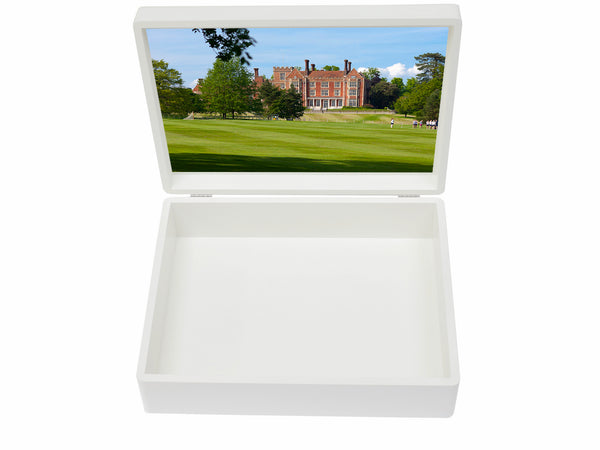 Benenden School Memory Wood Box - A4 Box - Personalised