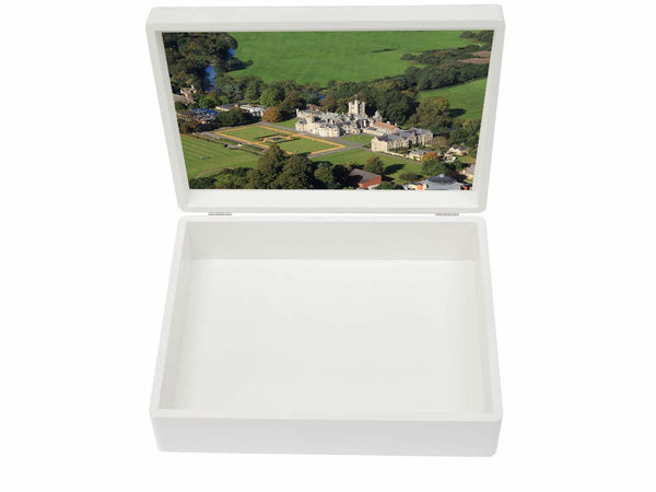 Canford School Memory Wood Box - A4 Box - Personalised