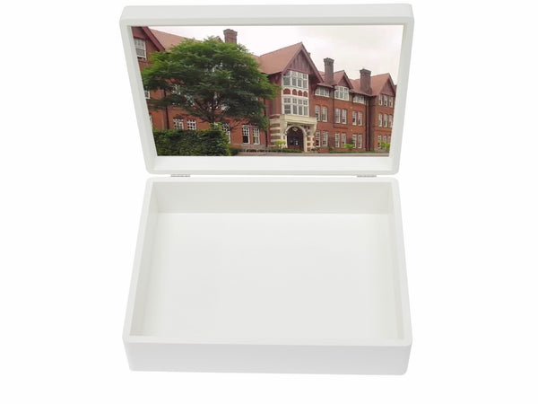 Caterham School Memory Wood Box - A4 Box - Personalised