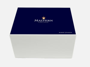 Malvern College School Memory Wood Box - A4 Chest - Personalised