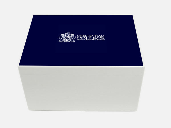 Cheltenham College School Memory Wood Box - A4 Chest - Personalised