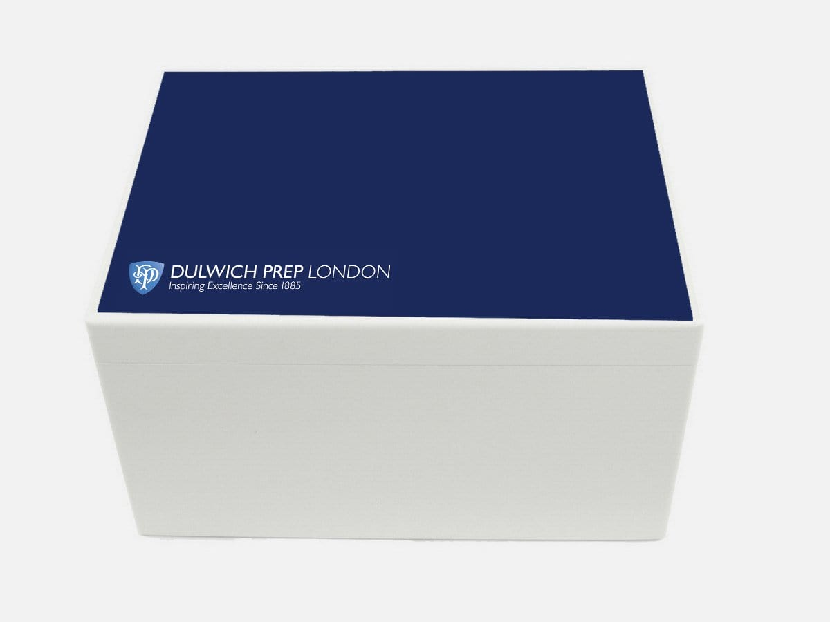 Dulwich Prep School Memory Wood Box - A4 Chest - Personalised