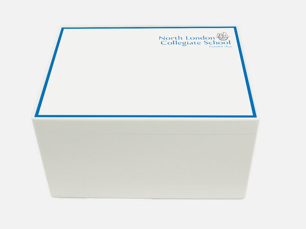 North London Collegiate School Memory Wood Box - A4 Chest - Personalised