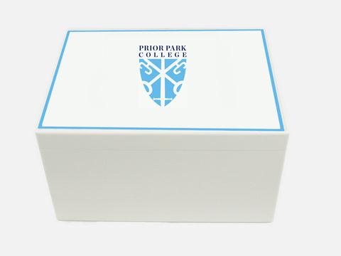 Prior Park College School Memory Wood Box - A4 Chest - Personalised