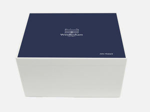 Windlesham School Memory Wood Box - A4 Chest - Personalised