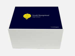South Hampstead High School Memory Wood Box - A4 Chest - Personalised