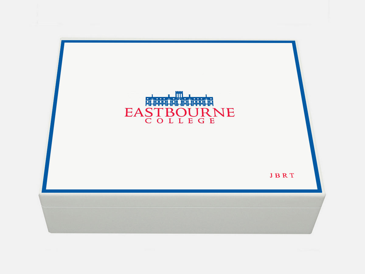 Eastbourne College School Memory Wood Box - A4 Box - Personalised