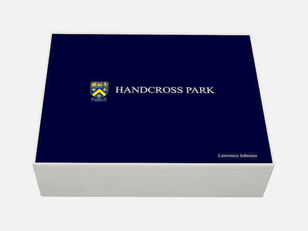 Handcross Park School Memory Wood Box - A4 box - Personalised