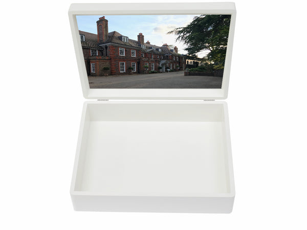 Ibstock Place School Memory Wood Box - A4 box - Personalised