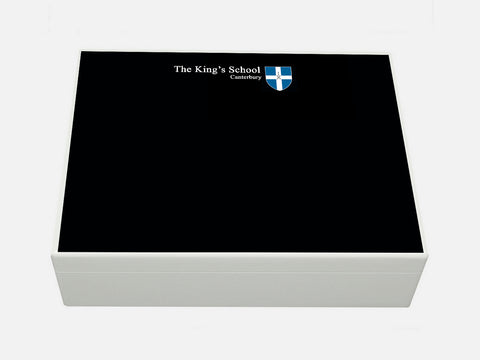 King's School Canterbury School Memory Wood Box - A4 box - Personalised