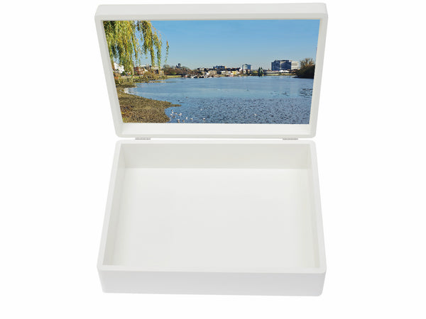 Latymer Upper School Memory Wood Box - A4 Box - Photo Box - Personalised