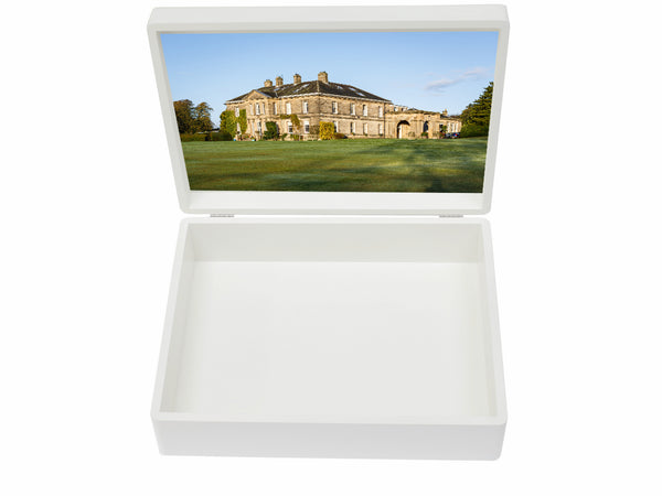 Mowden Hall School Memory Wood Box - A4 box - Personalised