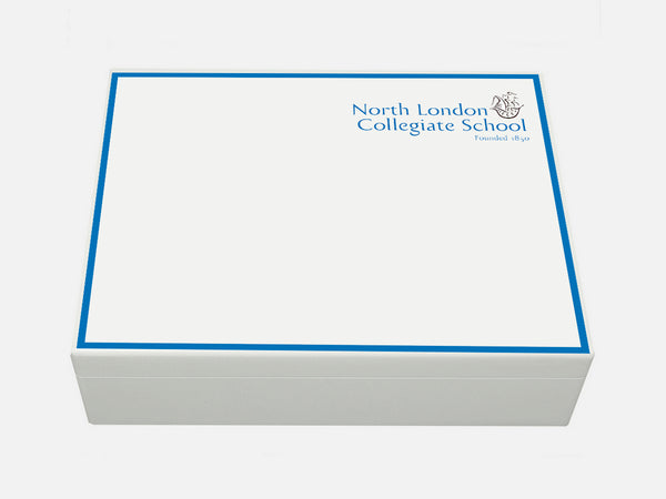 North London Collegiate School Memory Wood Box - A4 box - Personalised
