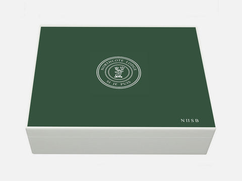 Northcote Lodge School Memory Wood Box - A4 box - Personalised
