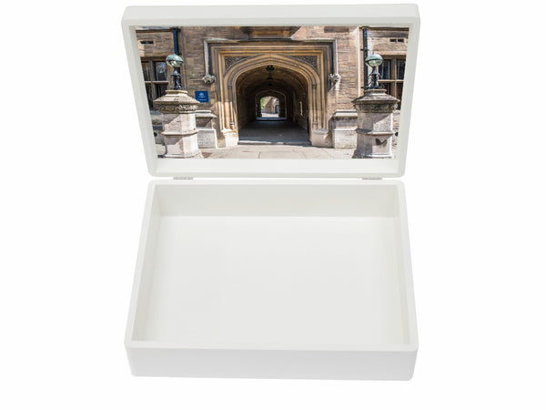 Oundle School Memory Wood Box - A4 box - Personalised